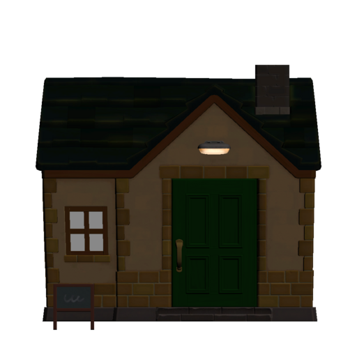 Animal Crossing New Horizons Anchovy's House Exterior Outside