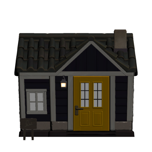 Animal Crossing New Horizons Al's House Exterior Outside