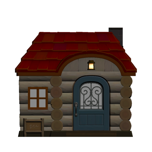 Animal Crossing New Horizons Amelia's House Exterior Outside