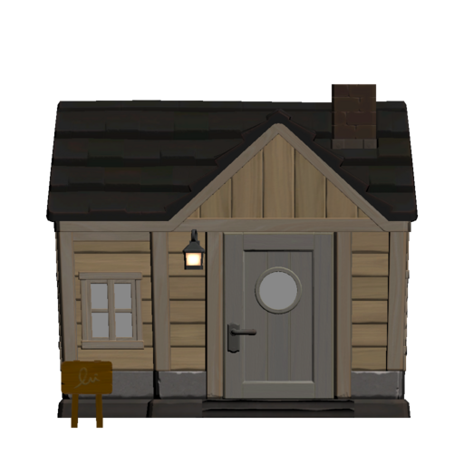 Animal Crossing New Horizons Aurora's House Exterior Outside