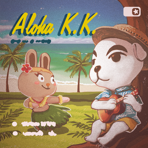 Animal Crossing New Horizons Anabelle's House Aloha K.K. Music