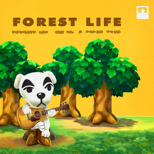 Animal Crossing New Horizons Alfonso's House Forest Life Music