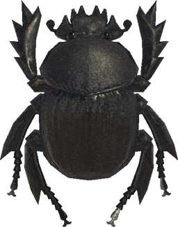 Animal Crossing New Horizons Dung Beetle Image