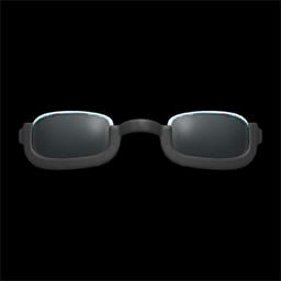 Animal Crossing New Horizons Bottom-rimmed Glasses Image