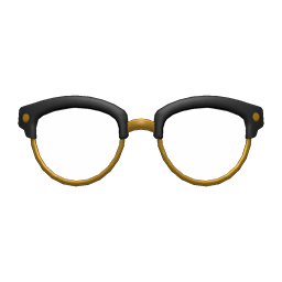 Image of Browline glasses