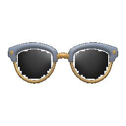 Animal Crossing New Horizons Browline Glasses Image