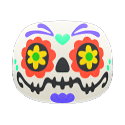 Animal Crossing New Horizons Candy-skull Mask Image
