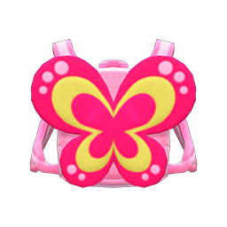 Animal Crossing New Horizons Butterfly Backpack Image