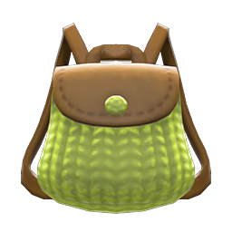 Animal Crossing New Horizons Knitted-grass Backpack Image