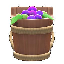 Animal Crossing New Horizons Grape-harvest Basket Image