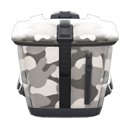 Animal Crossing New Horizons Foldover-top Backpack Image