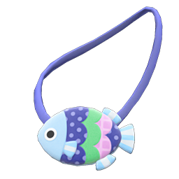 Animal Crossing New Horizons Fish Pochette Image