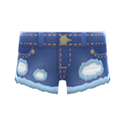 Animal Crossing New Horizons Worn-out Cutoffs Image