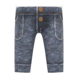 Animal Crossing New Horizons Acid-washed Jeans Image