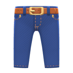 Animal Crossing New Horizons Denim Pants Image