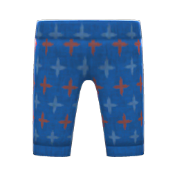 Animal Crossing New Horizons Traditional Monpe Pants Image
