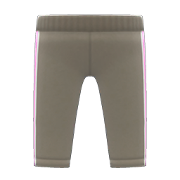 Animal Crossing New Horizons Track Pants (Gray) Image