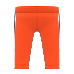 Animal Crossing New Horizons Track Pants (Red) Image