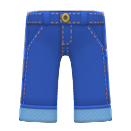Animal Crossing New Horizons Denim Painter's Pants Image