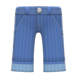 Animal Crossing New Horizons Hickory-stripe Pants Image