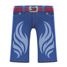 Animal Crossing New Horizons Embellished Denim Pants Image
