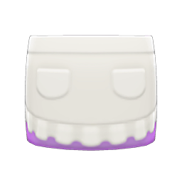 Image of Apron skirt