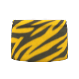 Image of Animal-stripes skirt