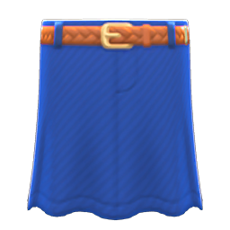 Animal Crossing New Horizons Long Denim Skirt Image