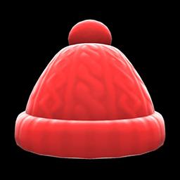 Image of Aran-knit cap