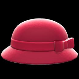 Animal Crossing New Horizons Bowler Hat With Ribbon Image