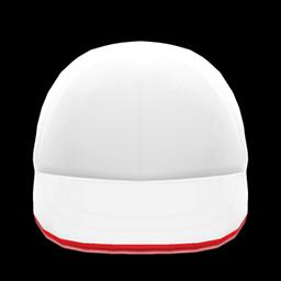 Animal Crossing New Horizons Sports Cap (White & Red) Image