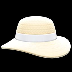 Main image of Wide-brim straw hat