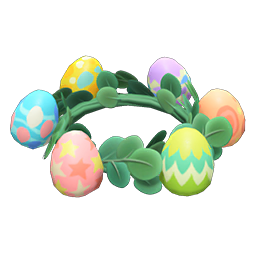 Animal Crossing New Horizons Bunny Day Crown Image