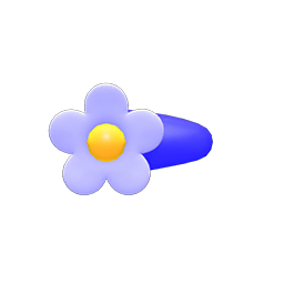 Image of Floral hairpin