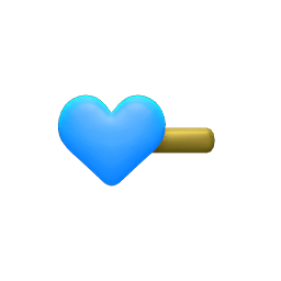 Image of Heart hairpin