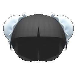 Animal Crossing New Horizons Bun Wig Image