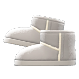 Animal Crossing New Horizons Faux-shearling Boots Image