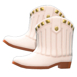 Animal Crossing New Horizons Cowboy Boots Image