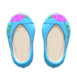 Animal Crossing New Horizons Embroidered Shoes Image