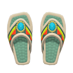 Image of Beaded sandals