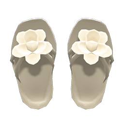 Animal Crossing New Horizons Flower Sandals Image