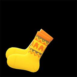 Animal Crossing New Horizons Nook Inc. Socks Image