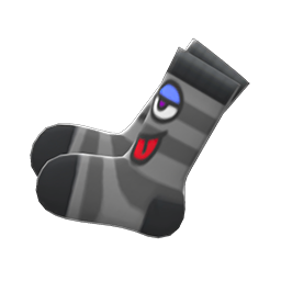 Animal Crossing New Horizons Funny-face Socks Image