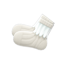 Animal Crossing New Horizons Frilly Socks Image