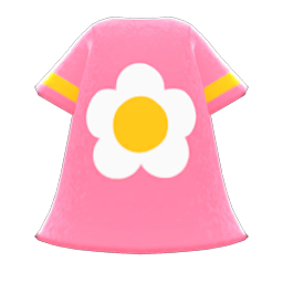 Image of Flower-print dress