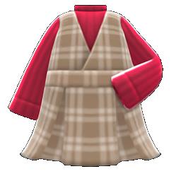 Animal Crossing New Horizons Checkered Jumper Dress Image
