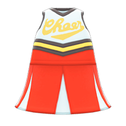 Animal Crossing New Horizons Cheerleading Uniform Image