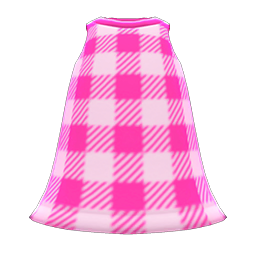 Main image of Simple checkered dress