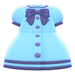 Animal Crossing New Horizons Sailor-collar Dress Image