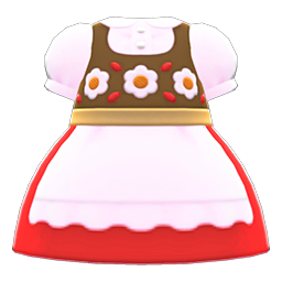 Animal Crossing New Horizons Alpinist Dress Image